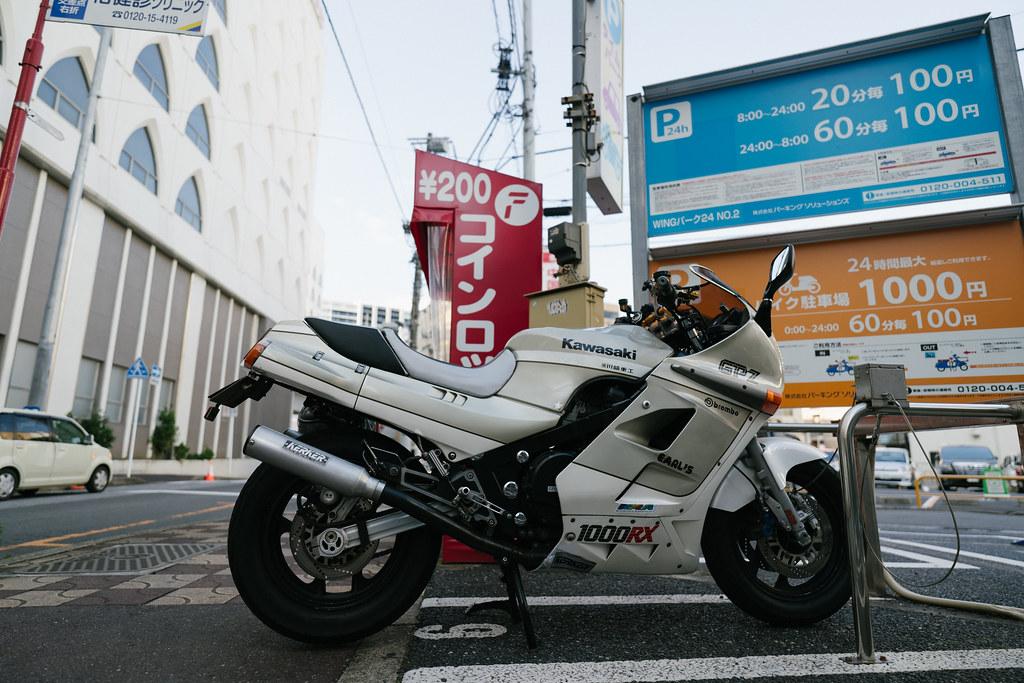 KAWASAKI GPZ1000RX 2021/07/24 DSC00137