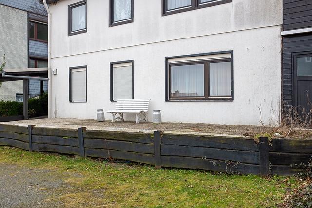 Terrasse im Landhausstil