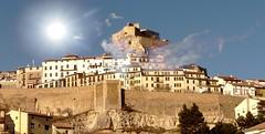 Morella (Castellón de la Plana, Comunitat Valenciana, Sp) – Silueta inconfundible