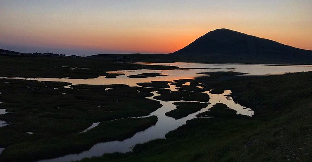 Ceapaibhal in the gloaming, Isle of Harris, Scotland.