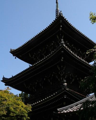 京都真如堂三重塔
