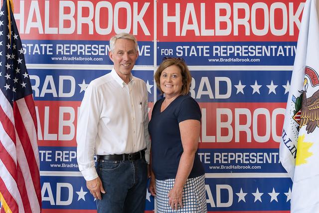 State Representative Brad Halbrook's Down on the Farm - Arcola, IL 07.24/21