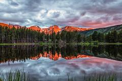 Morning at Sprague Lake, RMNP