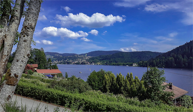 La lac de Gérardmer