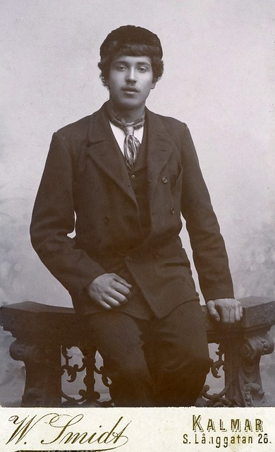 Unknown Swedish sailor 1910-30
