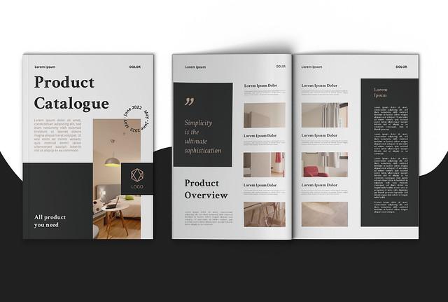 I will create brochure design, magazine, booklet, catalog design.