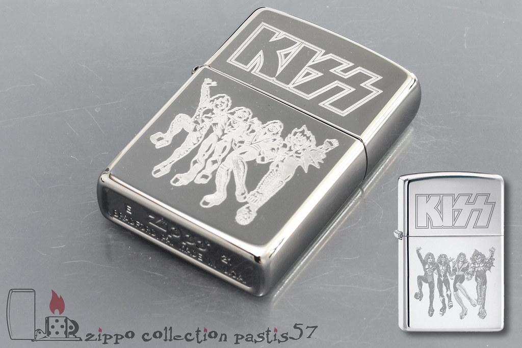 Zippo Kiss 2021-05 E-21 Kiss Destroyer Ref Z-200159 Z-1423576 Code 1 91693 21519 9 Reg 250 High Polish Chrome