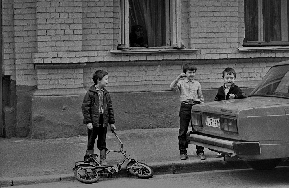 1983. «У нас все дома. Сретенка»