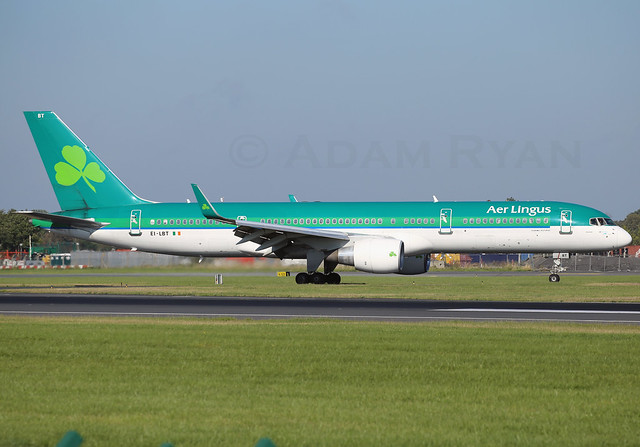 EI-LBT - Aer Lingus B757-200