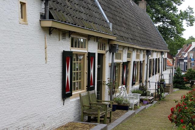 Medemblik, the 'widows' houses'