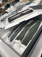 3 pr of socks packed for storage. Part of uniform from #VietnamWar. Headquarters Vietnam Force (HQ V Force) RNZ Army Medical Corps. Acc no: 2018.72.32 - .34. #collectionmanagement #museummoment