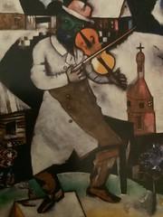 Chagall, Marc. The Fiddler. 1913. Stedelijk Museum. Amsterdam.