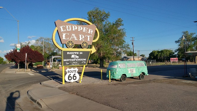 Copper Cart, Historic US 66, Seligman, AZ