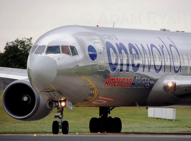 N395AN - American Airlines B767-300ER (OneWorld Livery)