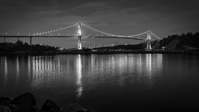 Lions Gate BW (Explored)