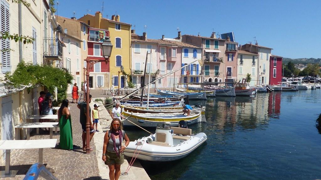 Martigues, Provence, 20 Julio 2021