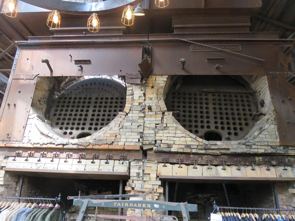 Old Taylor Distillery Steam Boilers