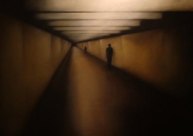 Samantha Torrisi - untitled underground (2009) - olio su tela 100 x 140 cm. - exhibition