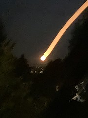 Haha, oops. Too bad because the moon looked SO cool last night. ud83cudf1d
