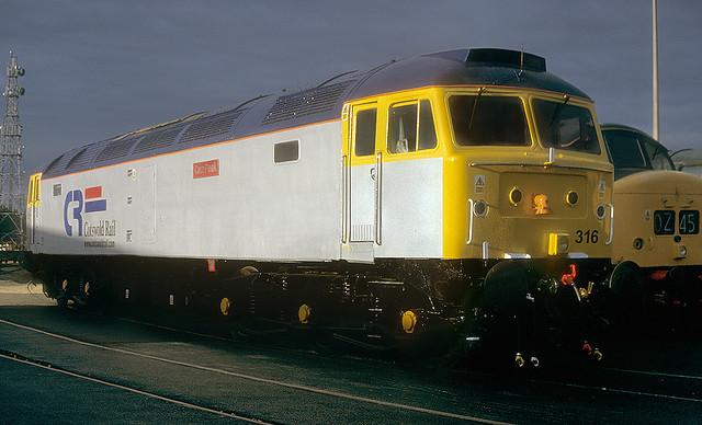 Cotswold Rail 47 Under A Dark Sky.