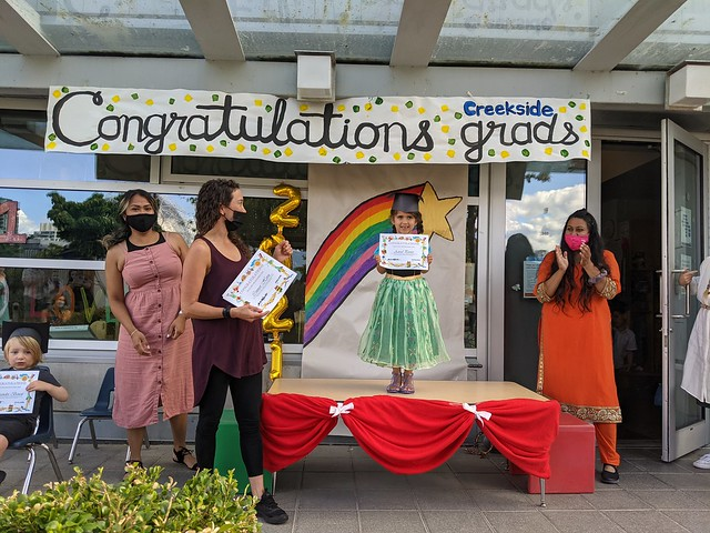 Astrid Graduates from Daycare