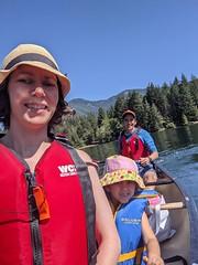 Hick's Lake Canoeing