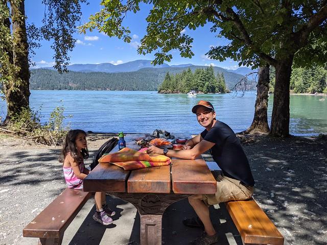 Harrison Lake Lunch