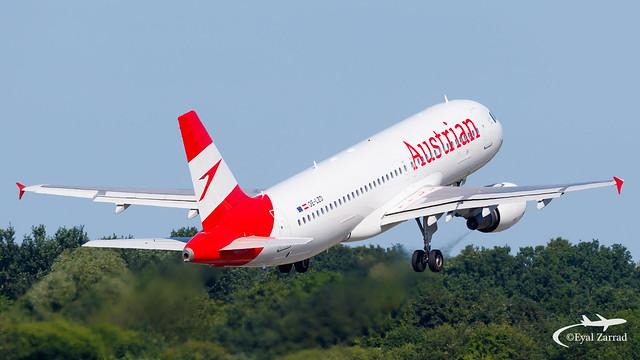 HAM - Austrian Airlines Airbus A320 OE-LZD
