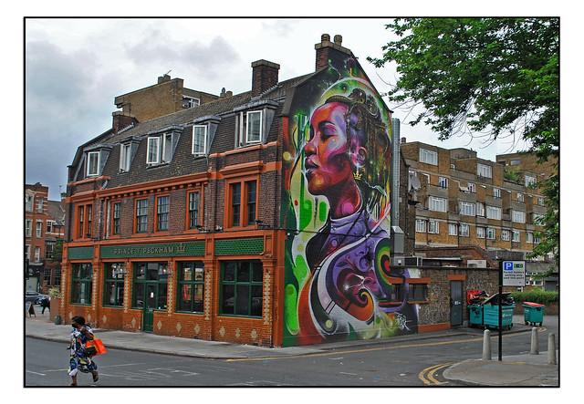 LONDON STREET ART by MR CENZ.