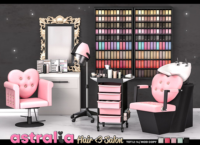 Astralia - Hair Salon!