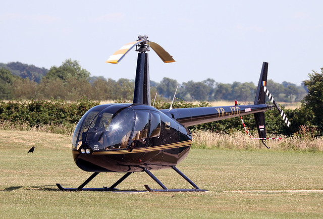 Robinson R44 Raven II YR-JTG EGBG 05072018