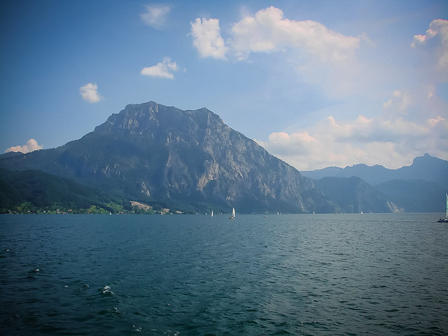 The wonderful lake Traunsee in austria [on Explore at 25/07/2021]