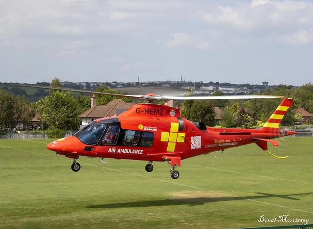 Irish Community Air Ambulance (Sloane Helicopters Ltd) A-109S Grand G-HEMZ