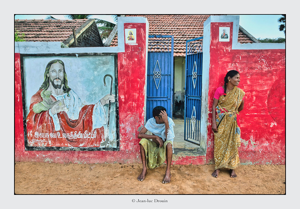 Eglise chrétienne à Rameswaram