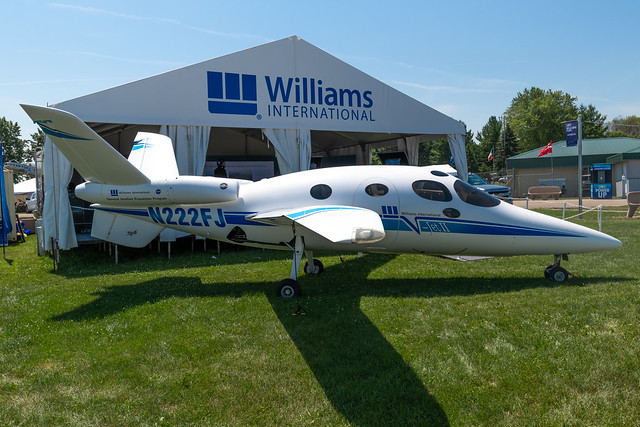 N222FJ Scaled Composites V-Jet II 001 KOSH