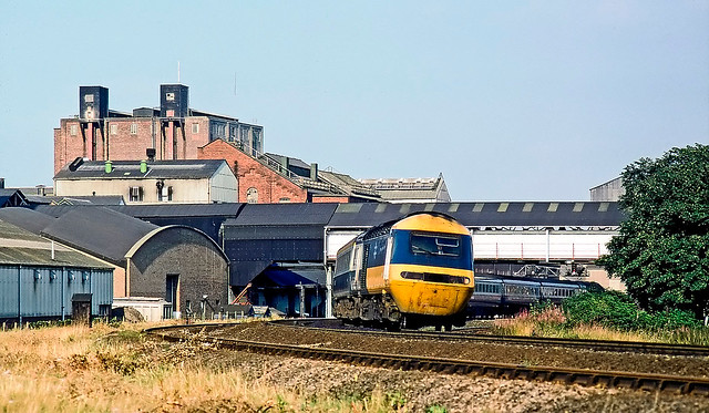 HST, Selby, August 1981