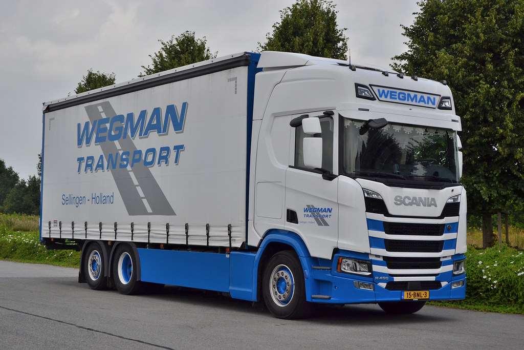 Scania R450NG Wegman Ter-Apelkanaal