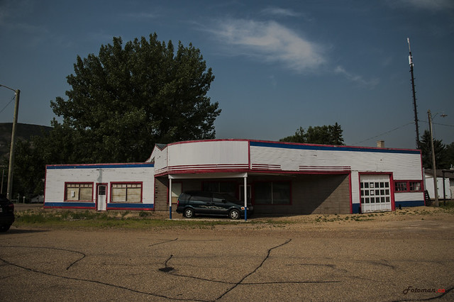 East Coulee Garage-Gas Station