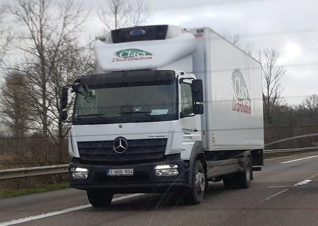 Mercedes-Benz Atego MP4 Bluetec6 1530 4x2 L (2019) - Claes Distribution N.V. Beringen, Provincie Limburg, Vlaanderen Gewest, België