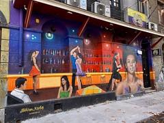 Murales del Barrio Bellavista, Santiago