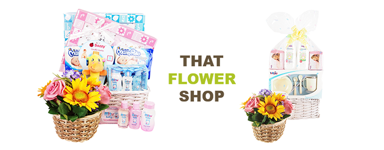 Baby Hampers at That Flower Shop Singapore