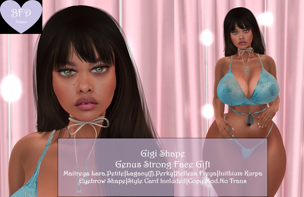 {BFD} Shapes – Gigi Shape – Genus Strong Face Gift ♥♥ New Release for The Weekly Limited!! ♥♥