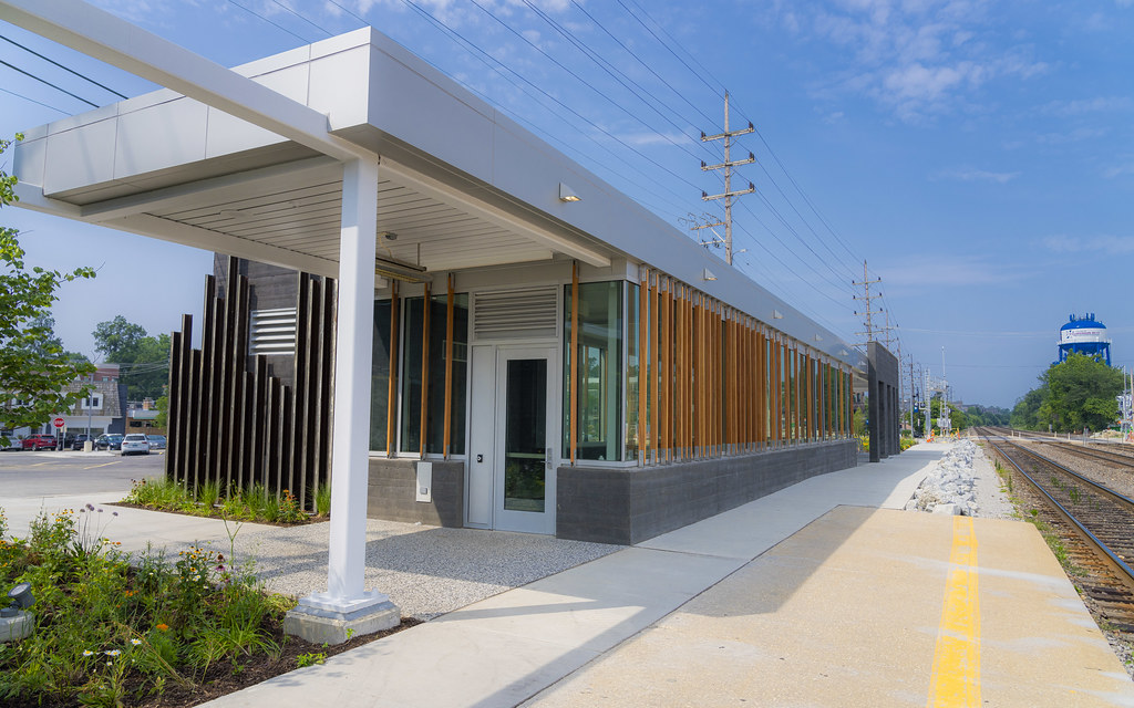 New Train Station in Clarendon Hills II