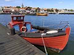 Nightclub, Toilet, står det på dörrarna, hamnen, Västervik