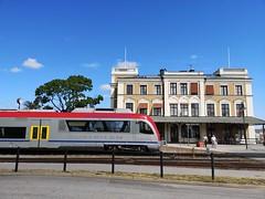 Axel Petersson Döderhultaren heter tåget, Västervik