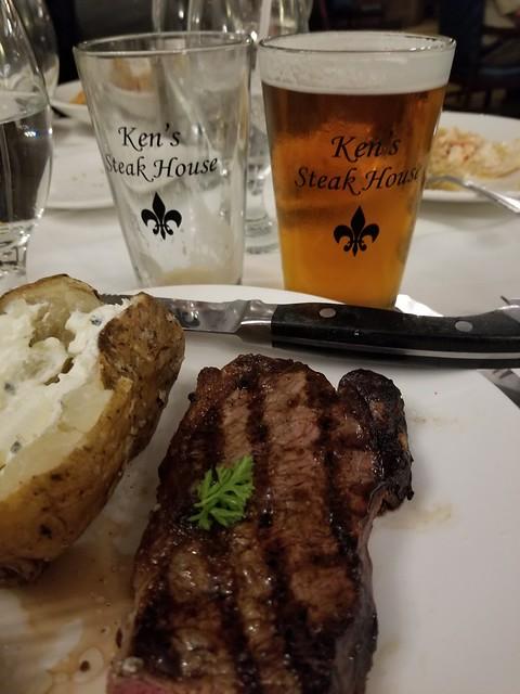 Dinner At Ken's Steak House
