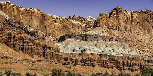 Fluted Wall in Capitol Reef NP