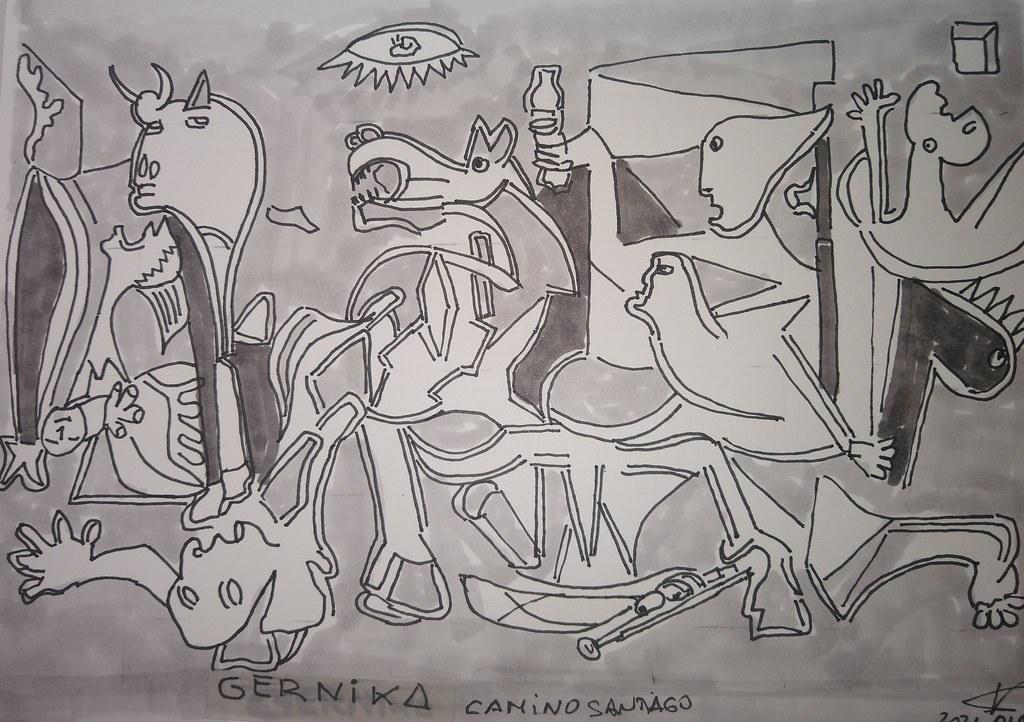 06 GERNIKA Camino Santiago