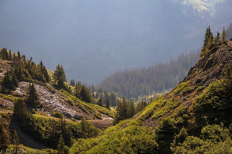 Gulch Descent