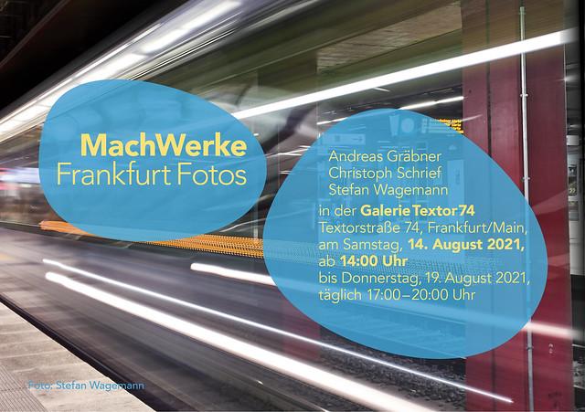MachWerke I Frankfurt Fotos